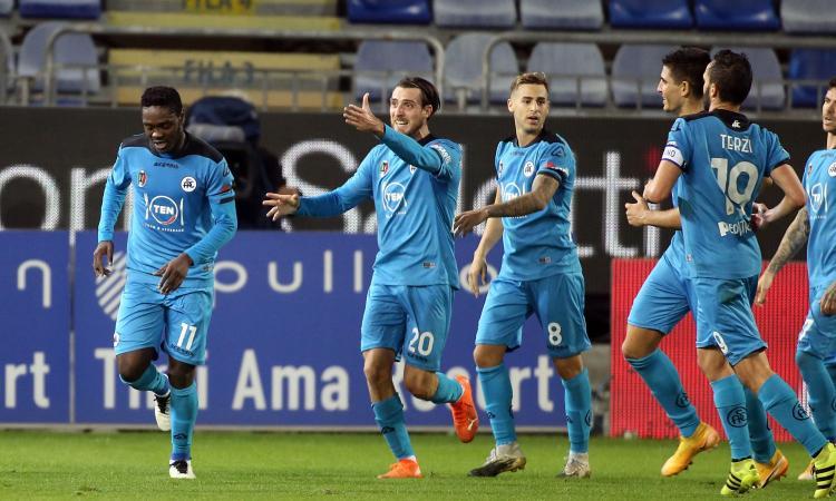 Serie A: Bologna, 1-0 al Crotone con Soriano. Lo Spezia riprende il Cagliari al 93'