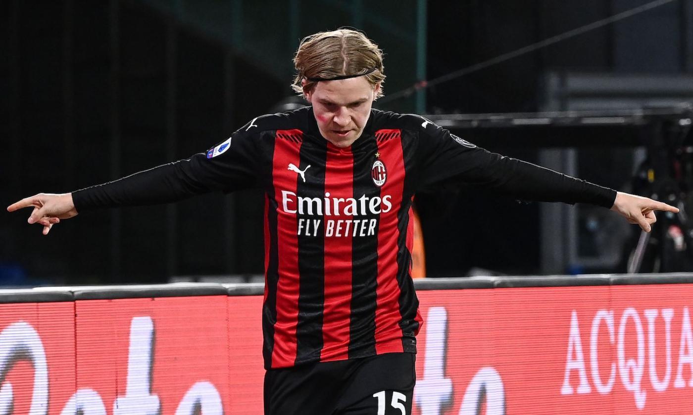 Milan, Hauge: 'Ci piace giocare in Europa, gli errori nel calcio ci stanno.  Lavoro per migliorare'   Europa League   Calciomercato.com