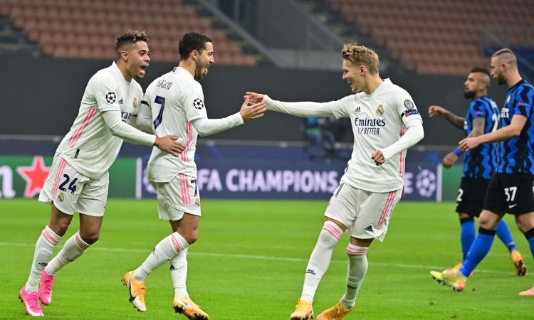 Crollo Inter a San Siro: 2-0 Real Madrid, Conte ha un piede fuori dalla Champions