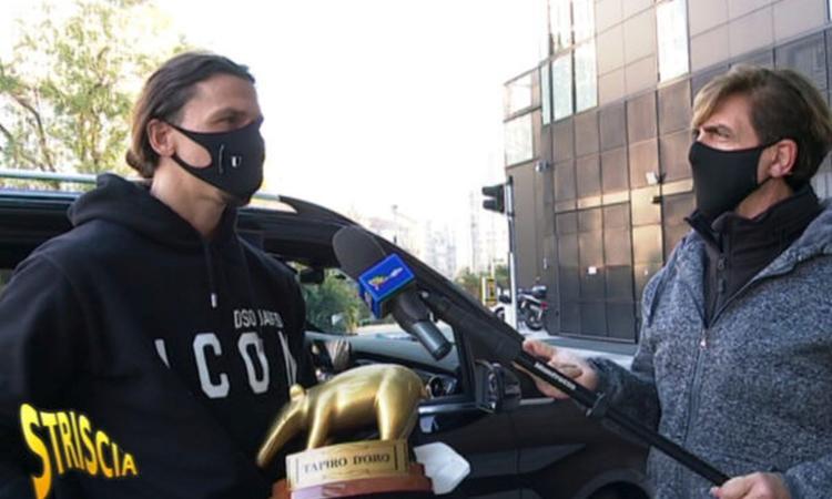 Milan, Tapiro d'Oro a Ibra: 'Ora torno più velocemente. EA Sports? Mi sfruttano senza pagare, c'è da indagare'