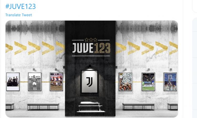 Il VIDEO della Juventus per i 123 anni: 'L'opera d'arte più immensa...'