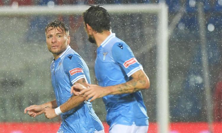 Crotone-Lazio senza storia: Immobile è una sentenza, Simy un attaccante improbabile