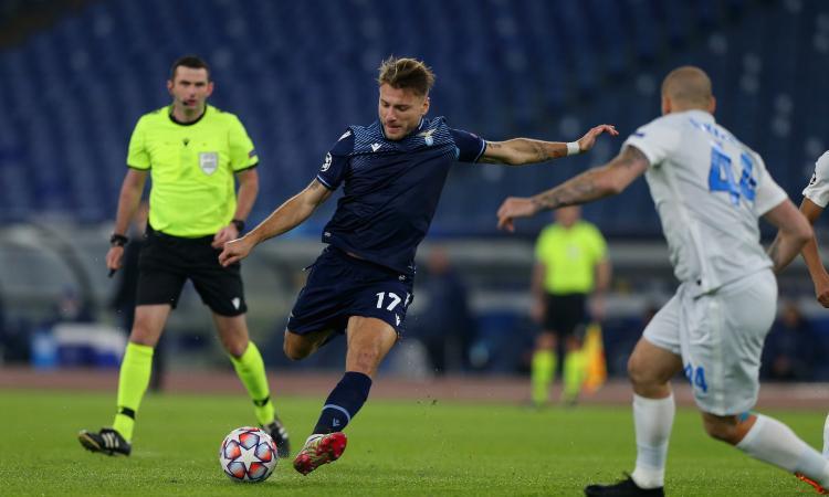 Lazio-Zenit 3-1: doppietta di Immobile