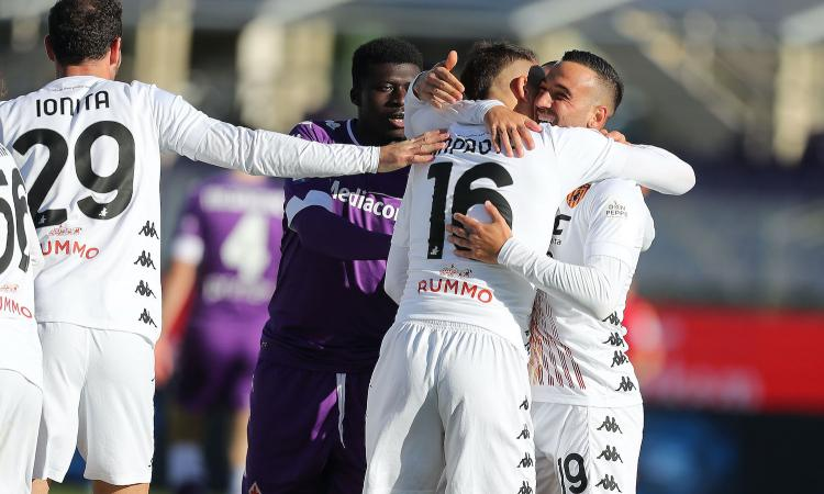 Benevento, Improta: 'Gol? Ora voglio ripetermi con la Juve'