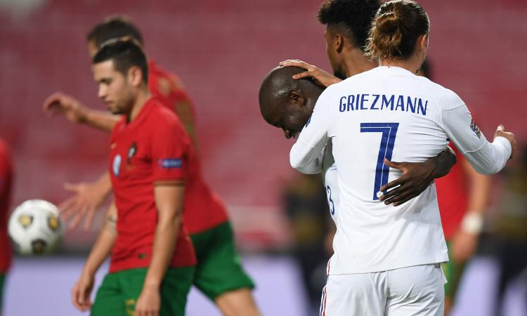 Kanté elimina CR7 dalla Nations League: Francia alle finali, grandi Griezmann e Rabiot