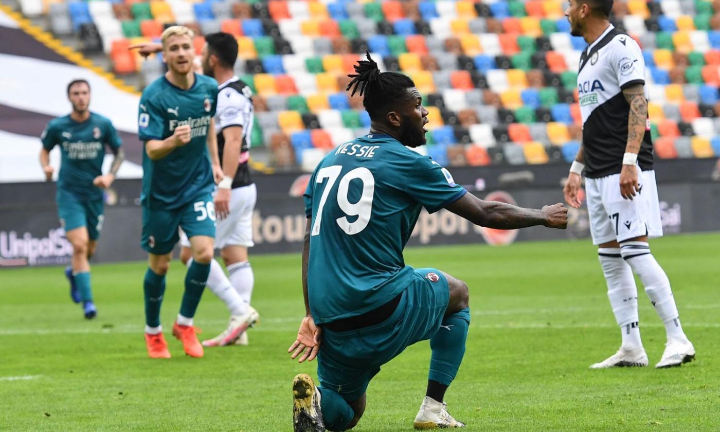Milan, Kessie: 'Ibra un campione, fa di tutto per aiutare la squadra.  Seguiamolo e arriveremo in alto' | Serie A | Calciomercato.com