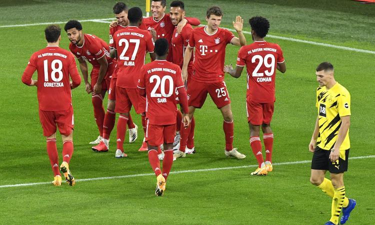 Bundesliga: Lewandowski batte Haaland, 3-2 Bayern al Borussia e primo posto in solitaria. Vince anche il Lipsia