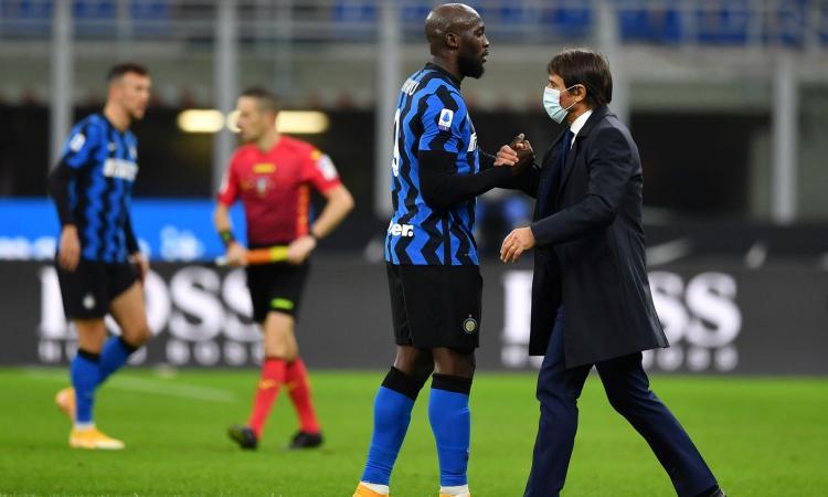 Inter, Conte aveva ragione su Lukaku: gli sta salvando la panchina