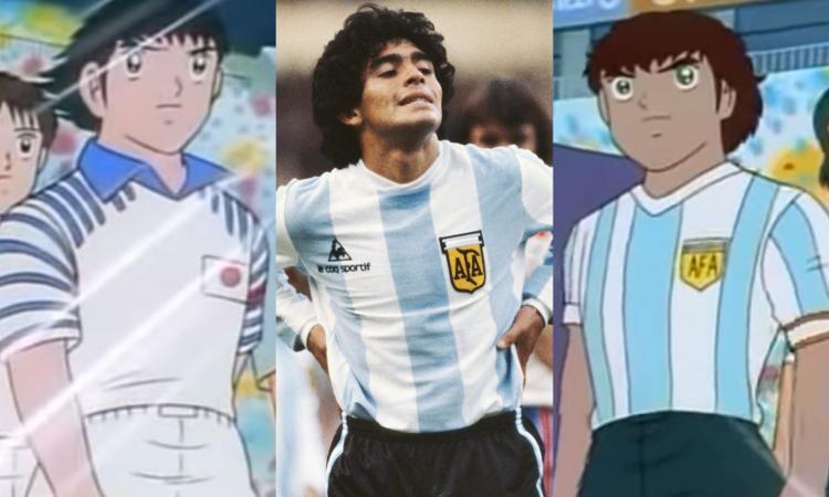 Takahashi e l'incontro con Maradona: c'è il giovane Diego in Giappone dietro la nascita di 'Captain Tsubasa'