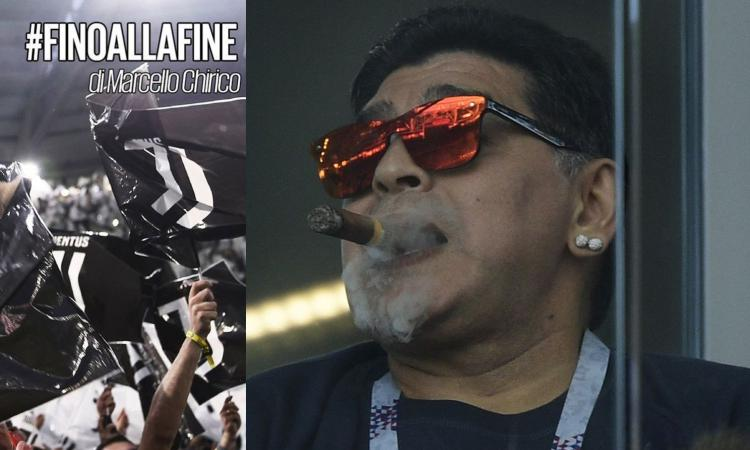 Chirico: 'Maradona un genio del calcio, ma la sua vita non è un esempio di virtù'
