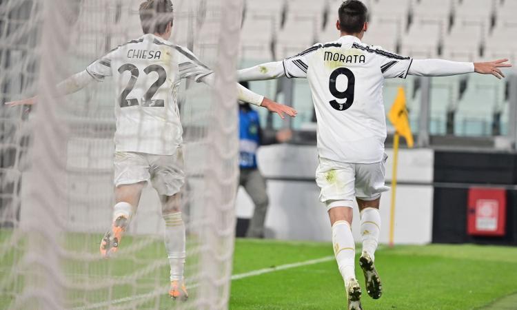 Morata trascina la Juve agli ottavi, ora è più importante di Ronaldo. Ma il gioco è un problema