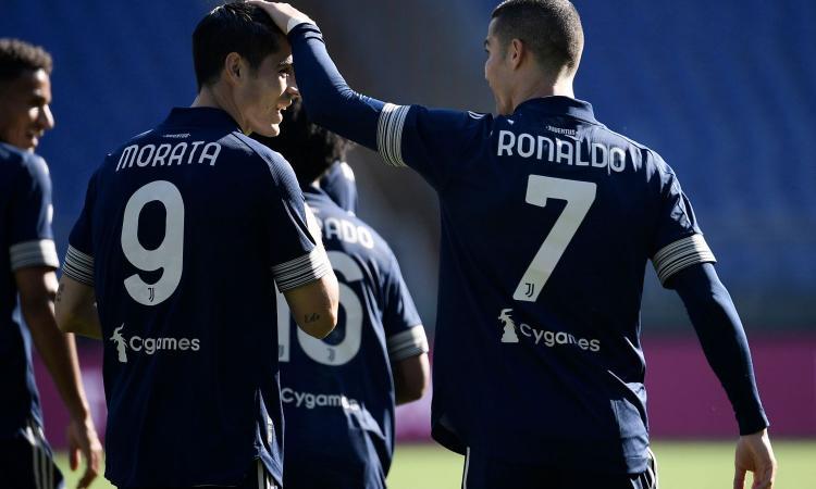 Ronaldo e Morata: nessuno come loro in Europa, ma ora Pirlo chiede i gol degli altri