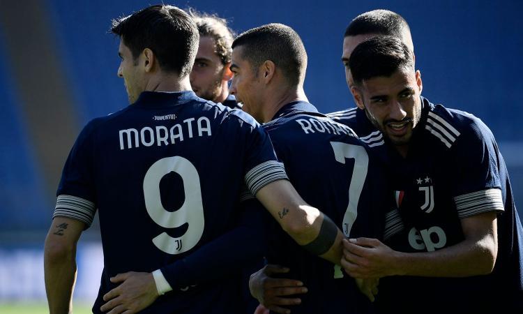 Ronaldo-Morata, i diamanti della Juve: Pirlo non ne può mai fare a meno