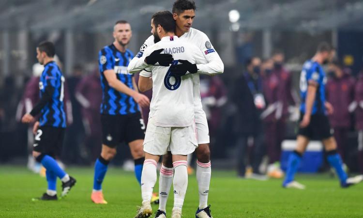 Real, Nacho brilla con l'Inter: due club di A ci pensano