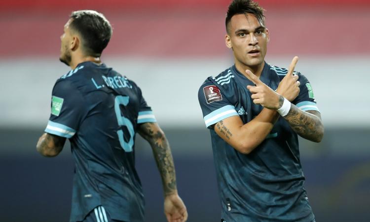 Inter: Lautaro benedice l'intesa con Paredes VIDEO