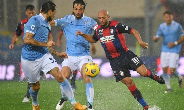 Crotone - Lazio 0-2: il tabellino