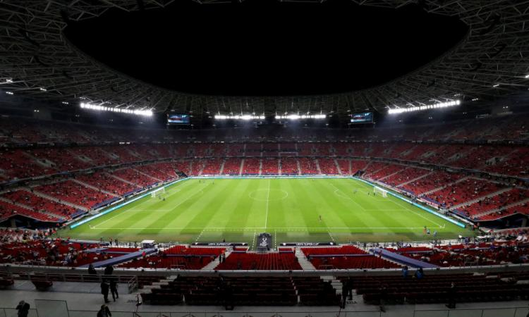 Juve, ecco quanti tifosi ci saranno alla Puskas Arena