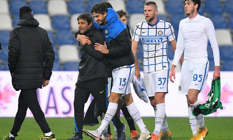 Patetica col Real, dominatrice col Sassuolo: Inter, così lo scudetto è più che possibile. E la Champions...