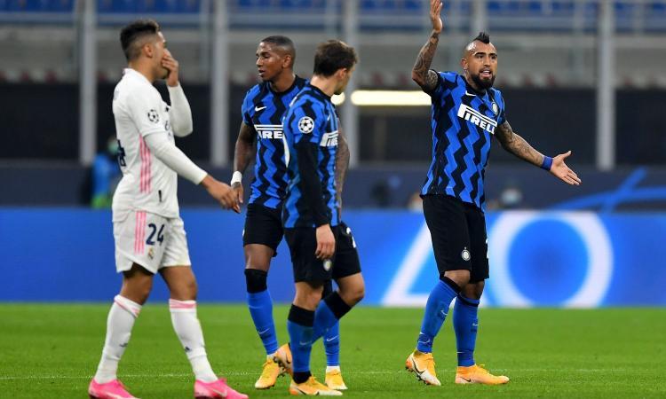 Inter-Real Madrid, le pagelle di CM: Barella isterico, ma l'esperienza di Vidal?