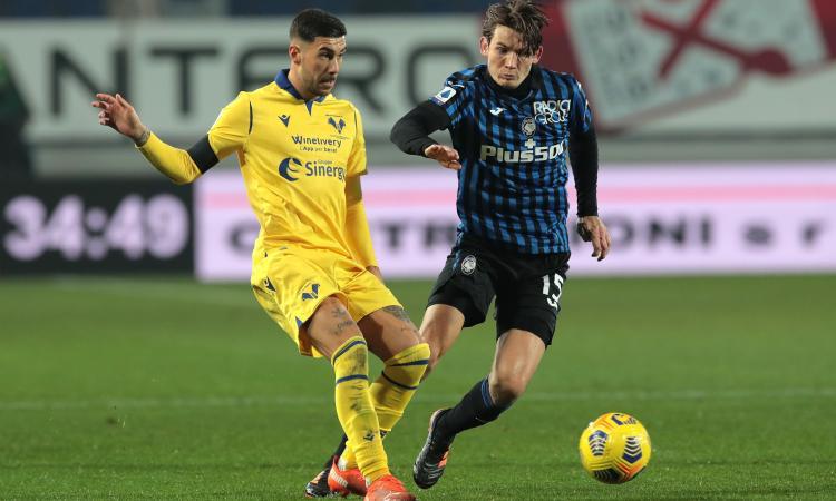 L'Atalanta paga le fatiche di Liverpool: il Verona vola con Zaccagni, da Nazionale