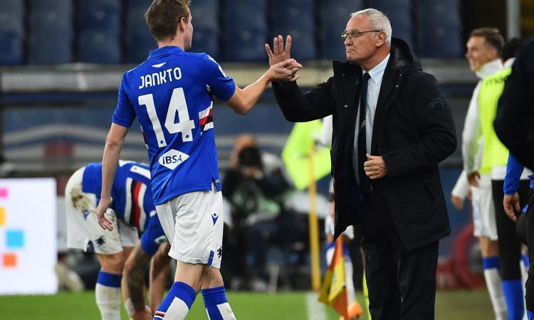 Sampdoria, il vice di Ranieri: 'Quagliarella sprecato per quel tipo di squadra, Damsgaard campione'