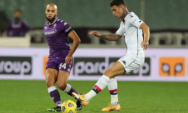Fiorentina, Amrabat è la sfida di Prandelli