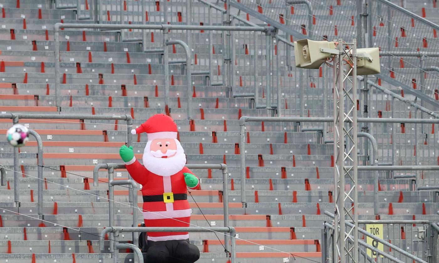 Esiste Babbo Natale Si O No.Genoamania Babbo Natale Esiste E Tifa Grifo Serie A Calciomercato Com