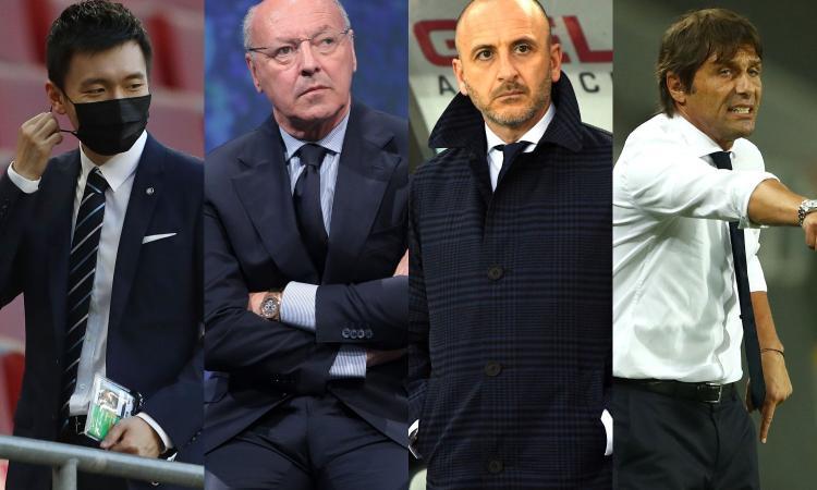 Inter: tutta la dirigenza in sede, ma nessun incontro con Conte