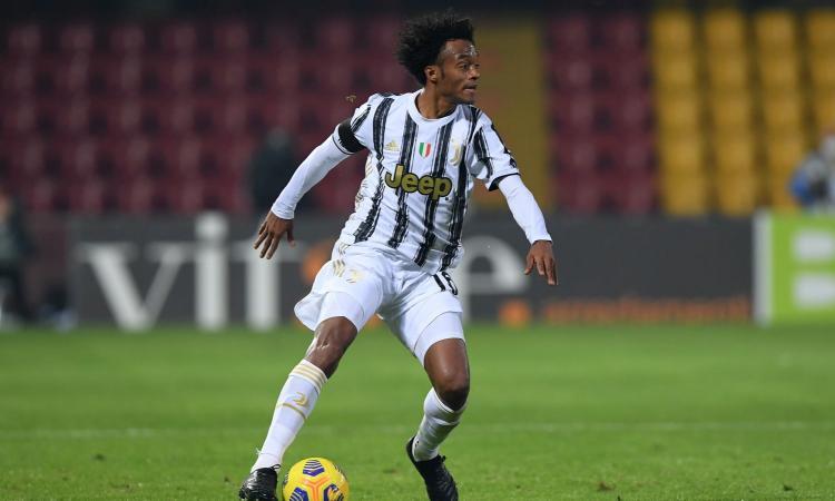 Juventus, UFFICIALE: Cuadrado è guarito dal Covid-19. Ci sarà contro il Napoli