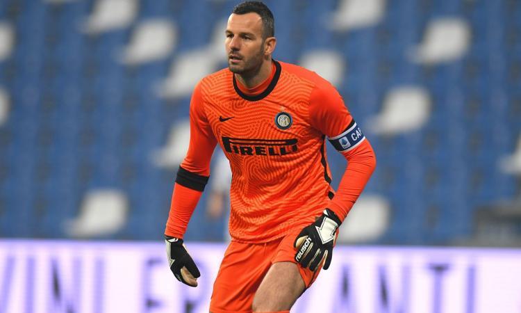 Inter, Handanovic: 'Pressione? Non so come definirla, ma l'obiettivo è sempre più vicino'