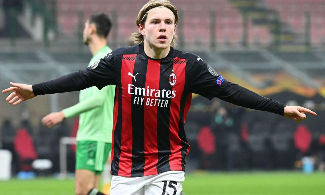 Hauge gol e assit. Il Milan ha davvero cambiato regime....