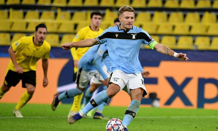 La Lazio non sfrutta il match point qualificazione. Col Dortmund senza Haaland fa 1-1 in rimonta