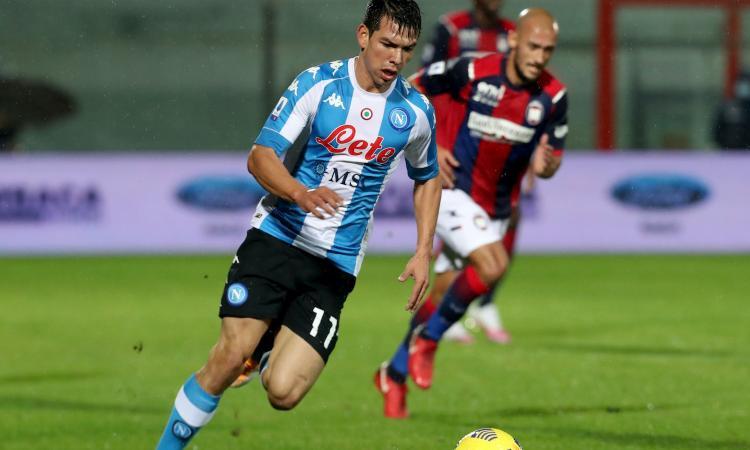 Napoli, un club ci prova per Lozano