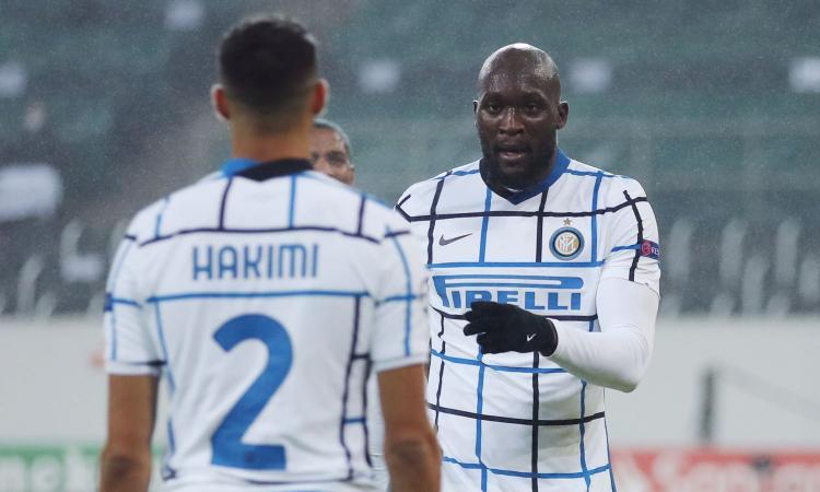 Borussia Moenchengladbach-Inter, le pagelle di CM: Lukaku da 9, Darmian stupisce ancora. Che Plea!