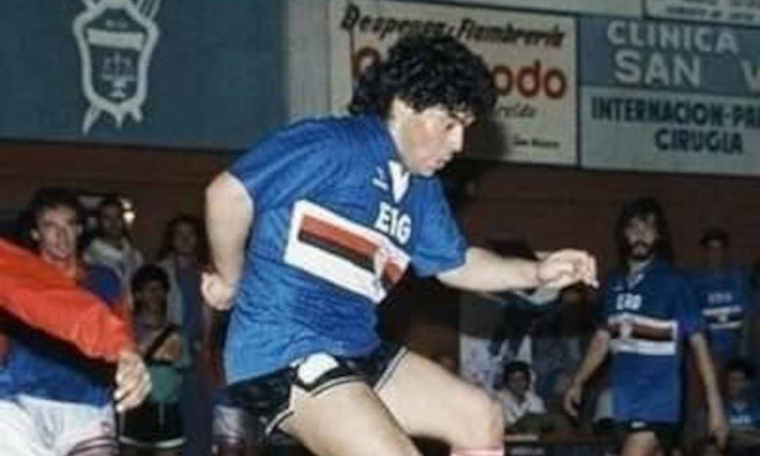 Quella volta che Maradona contro la Samp...
