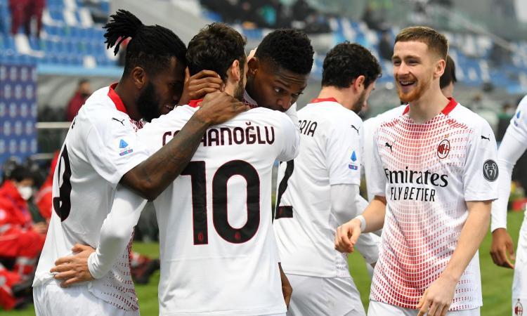 Milan, ancora 2 gol in una partita: la striscia da record si allunga