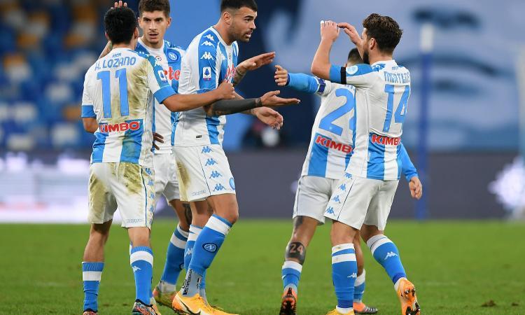 Napoli, l'attacco preoccupa verso la Supercoppa: le condizioni di Petagna e Mertens