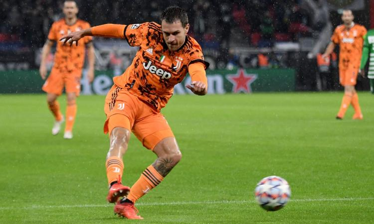 Juventus: Ramsey può tornare in Inghilterra