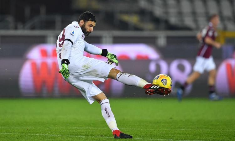 Torino, Sirigu vuole prolungare la striscia di imbattibilità: occasione con la Lazio o col Crotone?