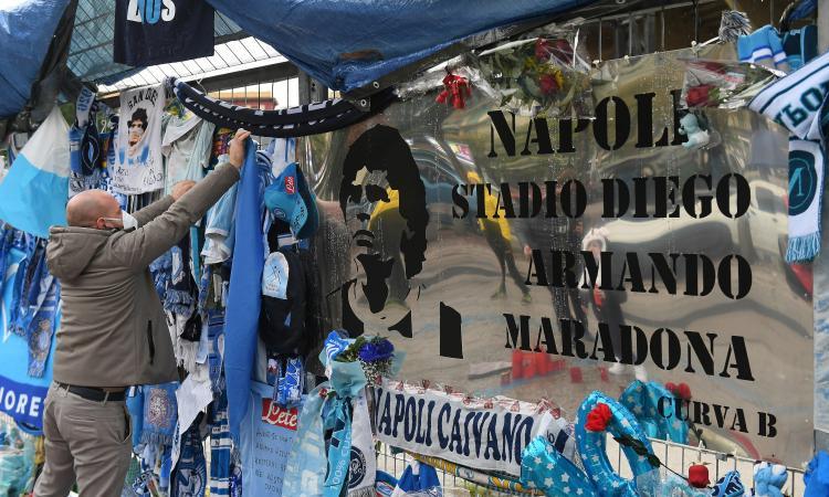 Napoli, UFFICIALE: il San Paolo ribattezzato stadio 'Diego Armando Maradona' VIDEO