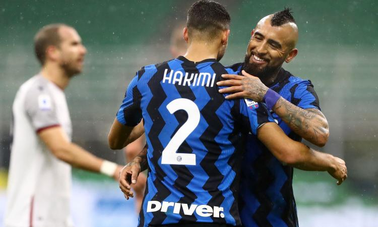 Inter-Bologna, le pagelle di CM: Brozovic ha occhi da tutte le parti, Hakimi è devastante