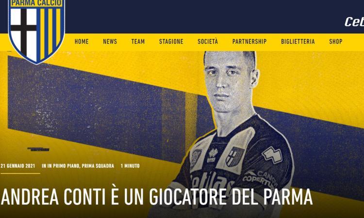 Milan, UFFICIALE la cessione di Conti al Parma: formula e cifre