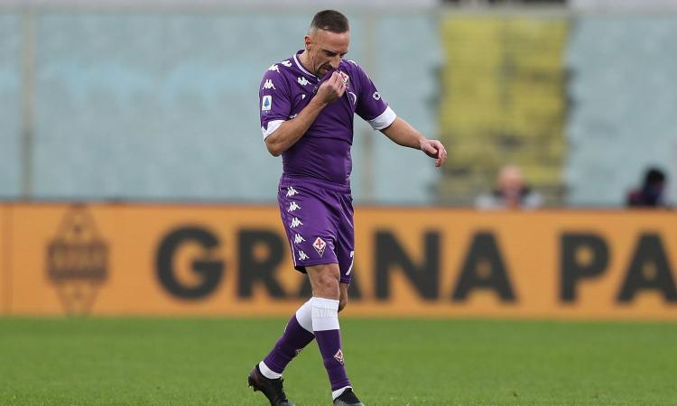 Fiorentina: Ribery tra il rinnovo e il Monza