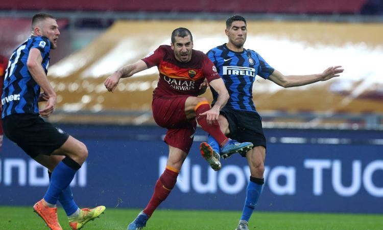 Inter, venti minuti ruggenti annullati da due cambi discutibili. Orgoglio Roma, ma manca ancora qualcosa
