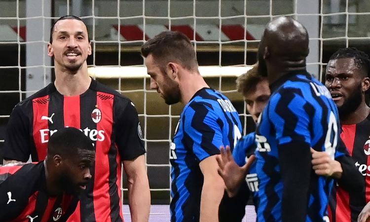 Inter-Milan, rivivi la MOVIOLA: espulso Ibra, rigore su Barella col Var