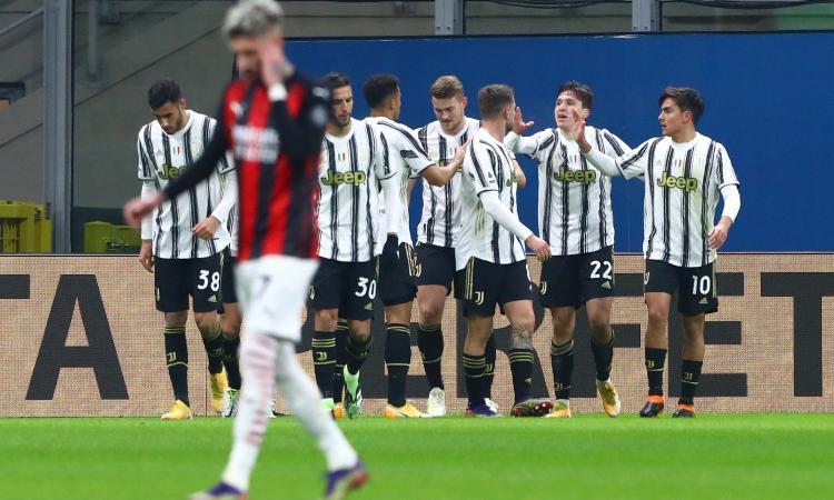 Pirlo fa festa con l'unica scelta azzeccata: la Juve gonfia il petto, ma per ora è solo in zona Champions