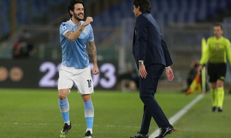 Lazio, Inzaghi riabbraccia Luis Alberto. Musacchio già in campo, Caicedo a parte