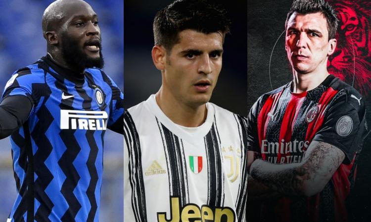 Serie A, probabili formazioni: Lukaku guida l'Inter 'tipo', Pirlo con Morata e i dubbi a centrocampo, Mandzukic subito?