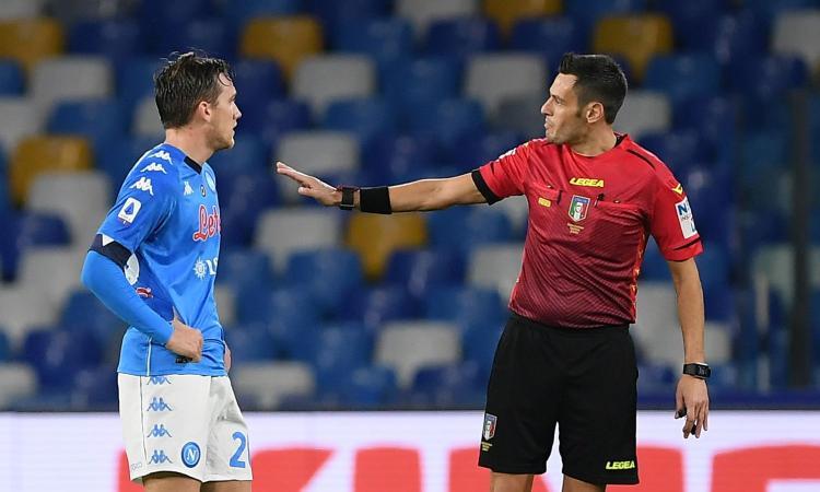 Arbitri recuperi Serie A: Mariani per Juve-Napoli, Inter-Sassuolo a Irrati