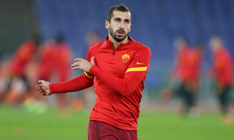 Flop Roma, pronti i cambi: Mkhitaryan in standby, tra opzione e Raiola